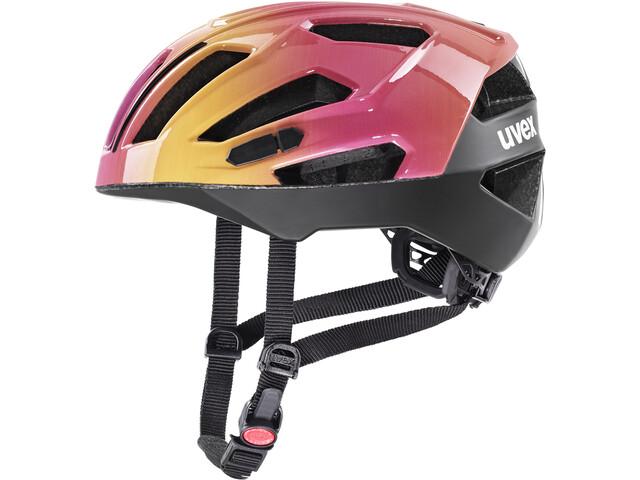 UVEX Gravel-X Helmet, roze/oranje